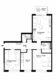Ruhige und zentral gelegene 3-Zimmer Wohnung mit Balkon - vermietet - - Grundriss